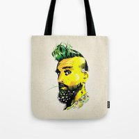 GREEN BEARD Tote Bag