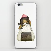 Onigiri Girl iPhone & iPod Skin