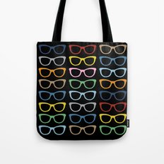 Sunglasses at Night Tote Bag