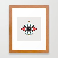 The Seeing Eye Framed Art Print