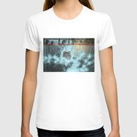 Floating Womens Fitted Tee White SMALL