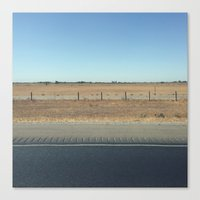 Highway 99 Canvas Print