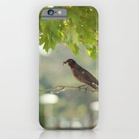 iPhone & iPod Case featuring The early bird gets the worm by Starr Cuevas Photography