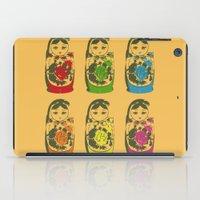 matryoshka dolls iPad Case