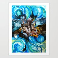 End Of The World Art Print