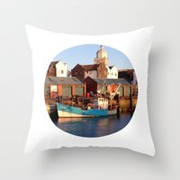 Telescope 13 tug Throw Pillow