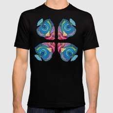 Oh That Fish SMALL Mens Fitted Tee Black