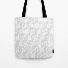 SUPER MARIO BLOCK-OUT! (White Edition) Tote Bag