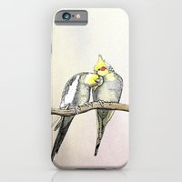 iPhone & iPod Case featuring Lovebirds  by Lorri Leigh Art