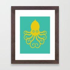 The Kraken Encounter Framed Art Print