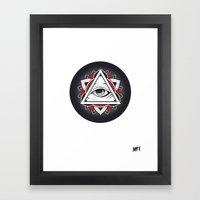Don't Trust... Framed Art Print