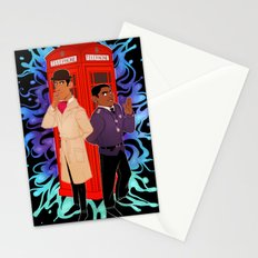 Inspector Spacetime Stationery Cards