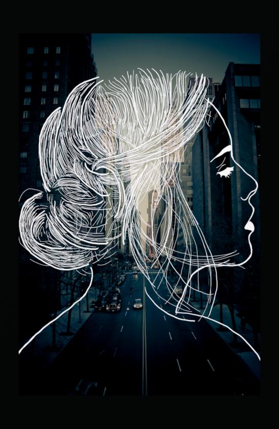 The woman who never sleep Canvas Print