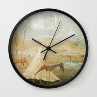 Finding Solace Wall Clock