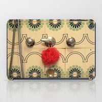 the vintage bathroom iPad Case