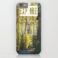 iPhone & iPod Case featuring Explore the Unexplored by Beckah Carney Photography
