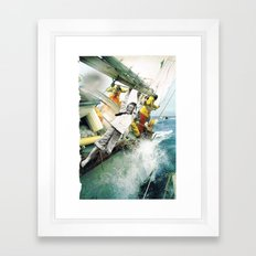 Bad Boy. Framed Art Print