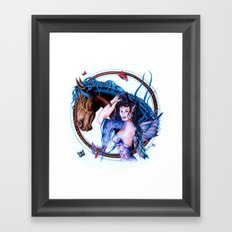 Faerie Princess  Framed Art Print