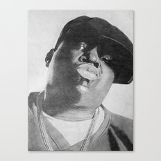 Notorious B.I.G Canvas Print