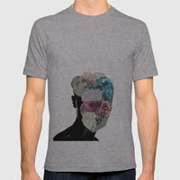 CrystalHead Mens Fitted Tee Athletic Grey SMALL