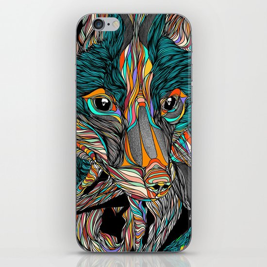 Fox (Feat. Bryan Gallardo) iPhone & iPod Skin