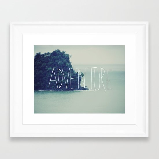 Adventure Island Framed Art Print