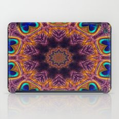 Peacock Fan Star Abstract iPad Case