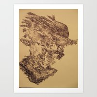 Out of the Box (The Emergence of Thought) Art Print