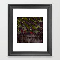 night traffic Framed Art Print