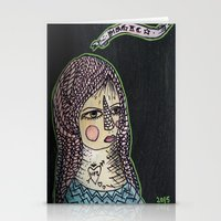 Magic Hair  Stationery Cards