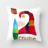 Cruise Throw Pillow