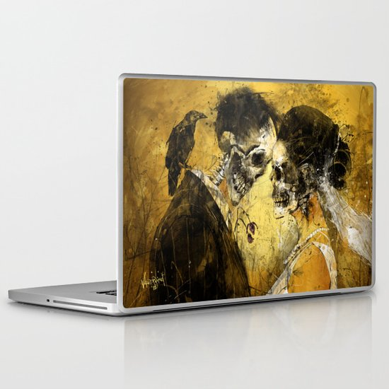 'Til Death do us part Laptop & iPad Skin