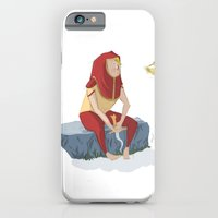 iPhone & iPod Case featuring henon and his bird by Sarah Murat