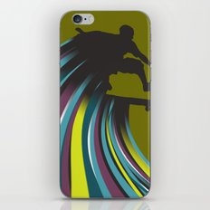 Skater Dude iPhone & iPod Skin