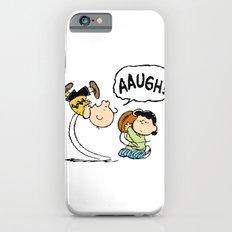 Charlie Brown Foot Ball iPhone 6s Slim Case