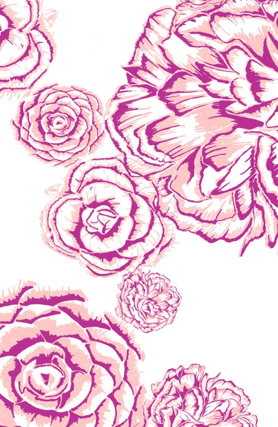 Bloom - Pink Canvas Print