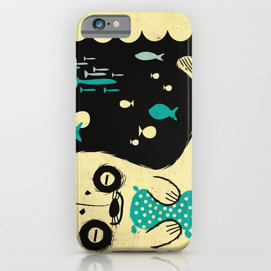 Panda Seal iPhone & iPod Case