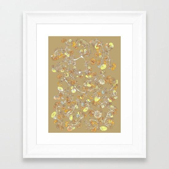 forest001 Framed Art Print