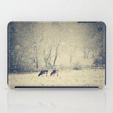 Blizzard meadow iPad Case