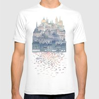 Serenissima Mens Fitted Tee White SMALL