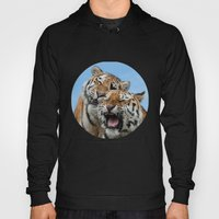 TIGERS - DOUBLE TROUBLE Hoody
