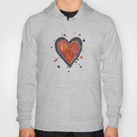 Painted Heart Hoody