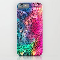 Space Flowers - for iphone iPhone 6 Slim Case
