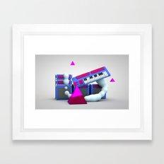 new wave pt 2 Framed Art Print