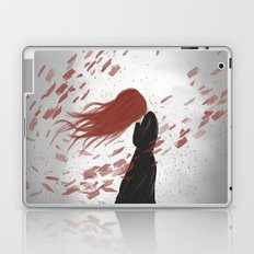 Red Sadness Laptop & iPad Skin