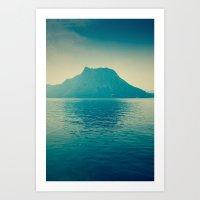 isla nublar... Art Print