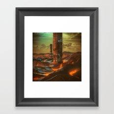 X1.TERRAFORM (YEAR ZERO) (everyday 09.18.15) Framed Art Print
