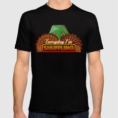 Everyday I'm Shuffling  |  Magic The Gathering SMALL Mens Fitted Tee Black