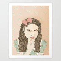 Aida Folch Art Print
