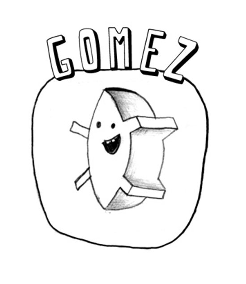 Gomez EMBLEMA Art Print